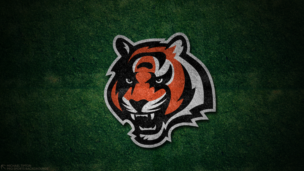 Cincinnati Bengals 2021 4k Grass Desktop Logo Wallpaper for PC that's printable 3840 x 2160 pixels
