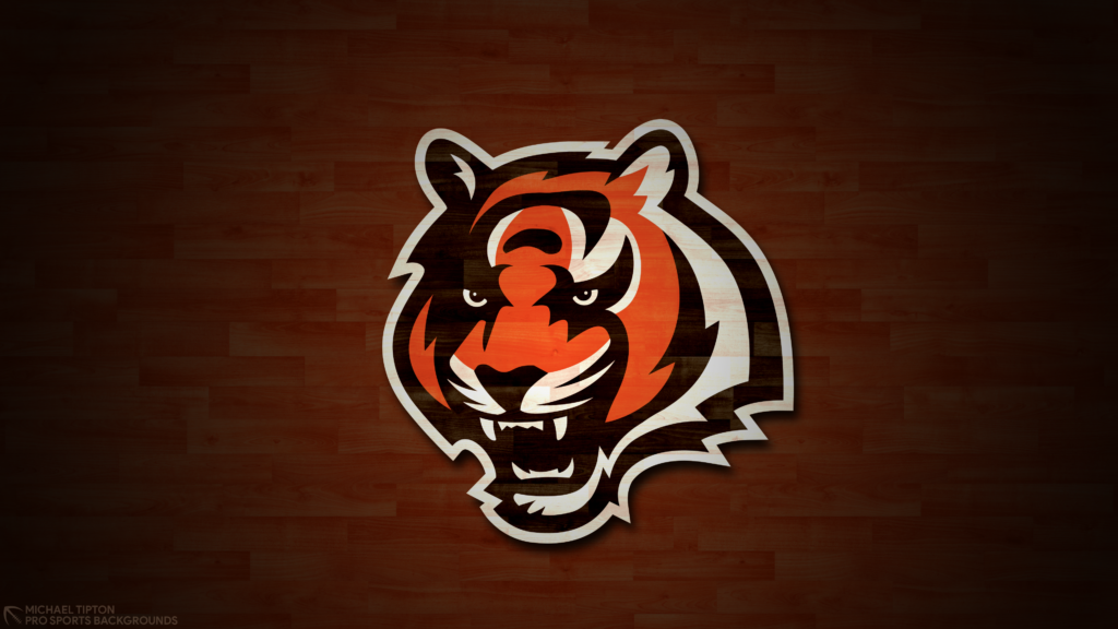 Cincinnati Bengals 2021 4k Hardwood Desktop Logo Wallpaper for PC that's printable 3840 x 2160 pixels
