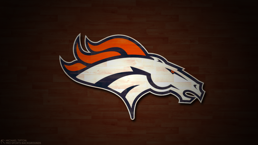 Denver Broncos 2021 4k Hardwood Desktop Logo Wallpaper for PC that's printable 3840 x 2160 pixels