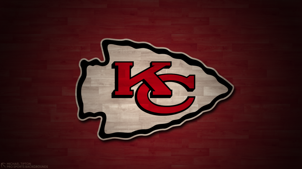 Kansas City Chiefs 2021 4k Hardwood Desktop Logo Wallpaper for PC that's printable 3840 x 2160 pixels