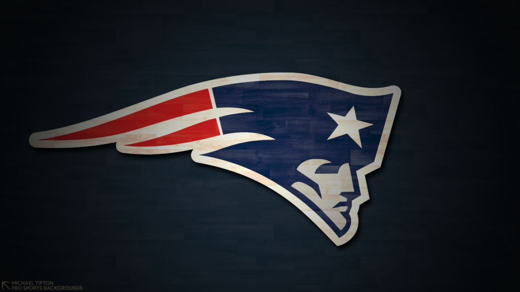 2019 NFL New England Patriots no schedule hardwood desktop