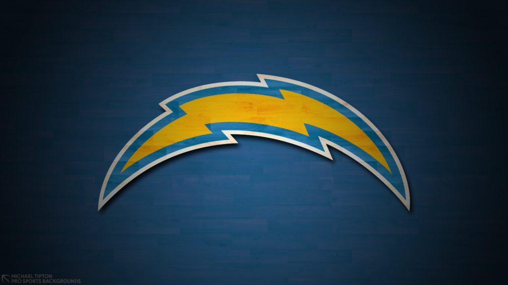 Los Angeles Chargers 2021 4k Hardwood Desktop Logo Wallpaper for PC that's printable 3840 x 2160 pixels