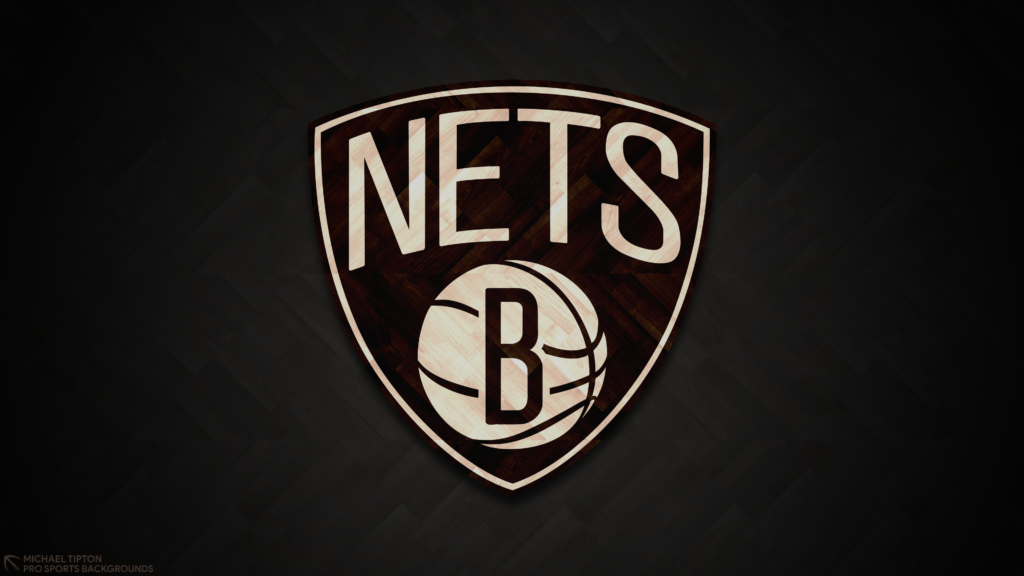 Brooklyn Nets 2021 NBA Desktop Logo Wallpaper 4K printable 3840x2160