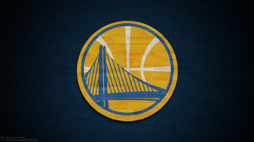 Golden State Warriors 2021 NBA Desktop Logo Wallpaper 4K printable 3840x2160