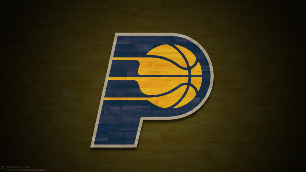 Indiana Pacers 2021 NBA Desktop Logo Wallpaper 4K printable 3840x2160
