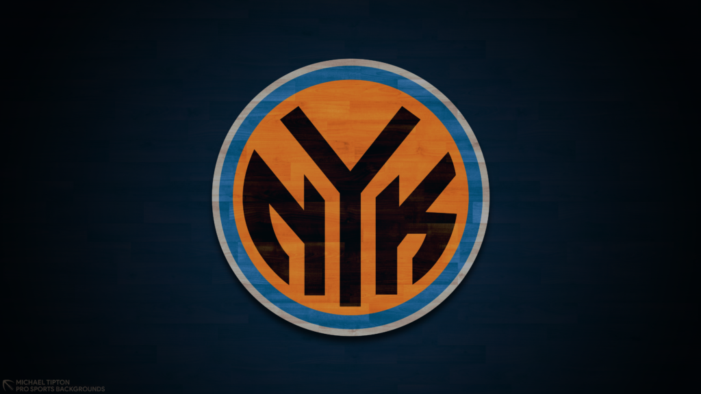 New York Knicks 2021 NBA Desktop Logo Wallpaper 4K printable 3840x2160